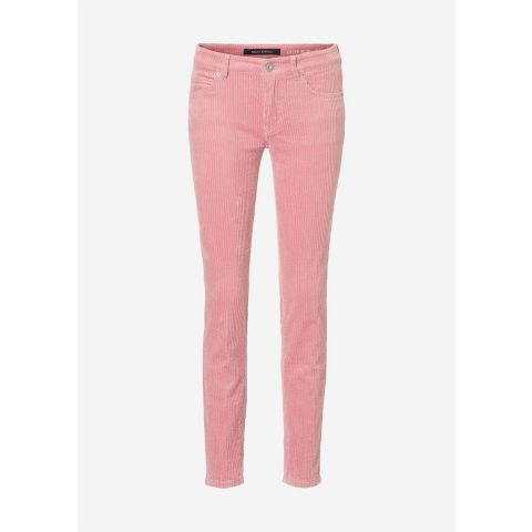 5 Pocket, mid waist, slim leg, regu