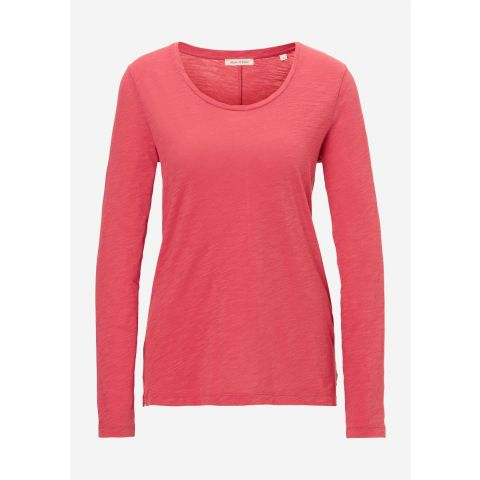T-shirt, long sleeve, round neck