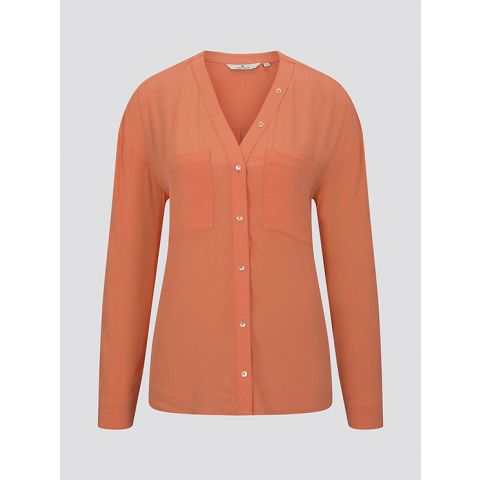 blouse with button detailing