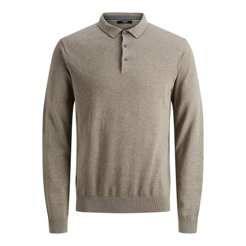 JPREDGAR KNIT POLO LS