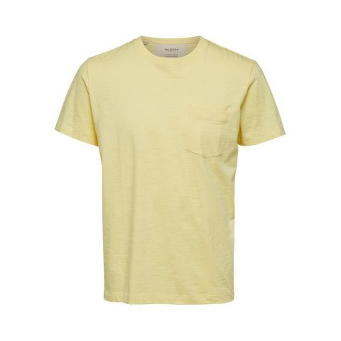 SLHJARED SLUB SS O-NECK TEE W