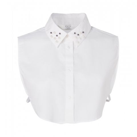 BLOUSE COLLAR PEARLS