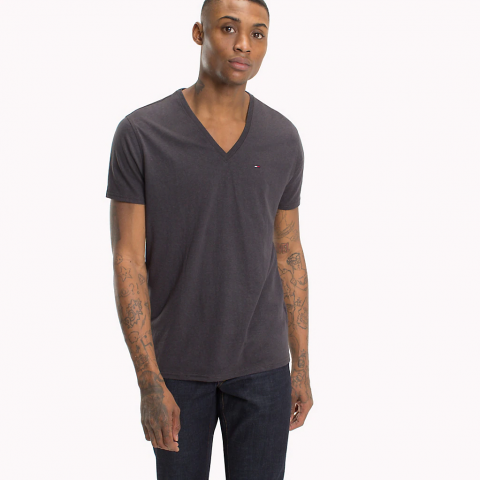 TJM ORIGINAL TRIBLEND V NECK TEE