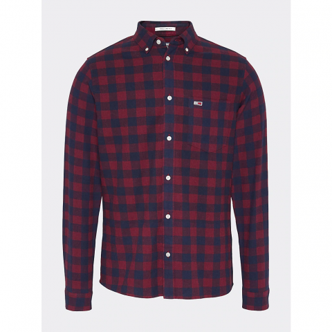 TJM SUSTAINABLE GINGHAM SHIRT