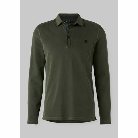 Polo, long sleeve, details out of w