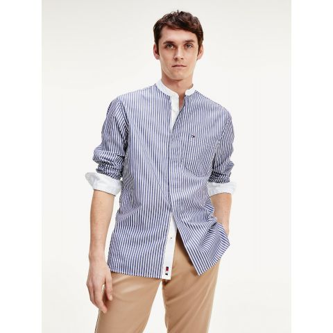 RELAXED FASHION GRANDAD SHIRT