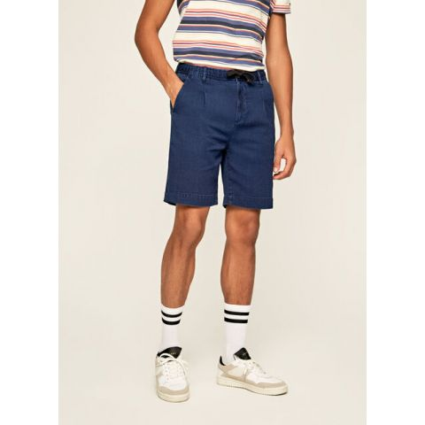 PIERCE SHORT INDIGO